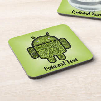 Bubbles Doodle Character for the Android™ robot Coasters
