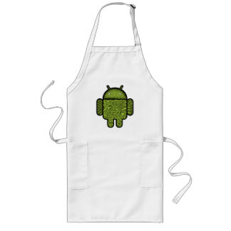 Bubbles Doodle Character for the Android™ robot Long Apron