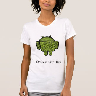 Bubbles Doodle Character for the Android™ robot T-Shirt