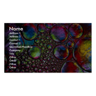 Bubbles Double-Sided Standard Business Cards (Pack Of 100)