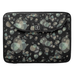 BUBBLES elegance on any Color Sleeve For MacBooks