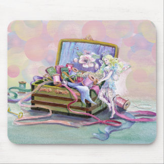BUBBLES & FAERIE by SHARON SHARPE Mouse Pad