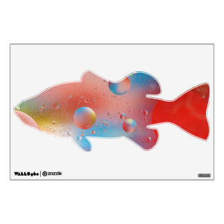 Bubbles Fish Wall Decal