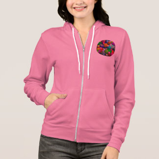 Bubbles Flex Fleece Zip Hoodie