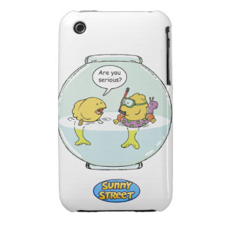 Bubbles Goes Swimming iPhone 3 Cases