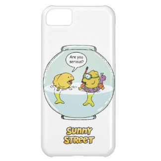Bubbles Goes Swimming Cover For iPhone 5C