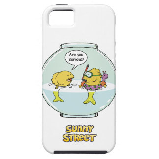 Bubbles Goes Swimming iPhone 5 Cover