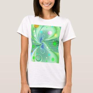 Bubbles green by Tutti T-Shirt