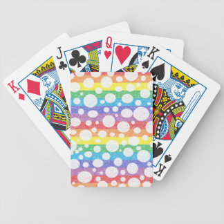 Bubbles in a Rainbow Sea Playing Cards