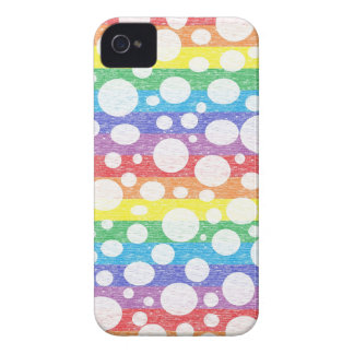 Bubbles in a Sea of Rainbows iPhone Case