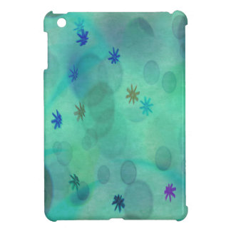 Bubbles in Teal iPad Mini Cases