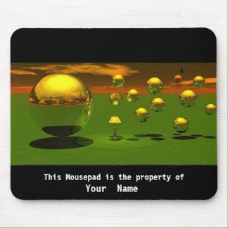 Bubbles in the Light  Mousepad Mousepad