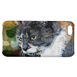 BUBBLES INTENTLY FOCUSED iPhone 5C CASES