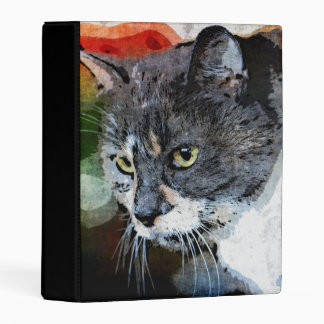 BUBBLES INTENTLY FOCUSED MINI BINDER