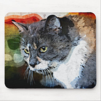 BUBBLES INTENTLY FOCUSED MOUSE PAD