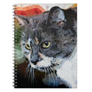 BUBBLES INTENTLY FOCUSED NOTEBOOK