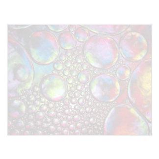 Bubbles Letterhead