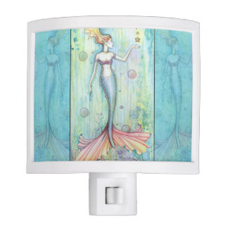 Bubbles Mermaid Night Light