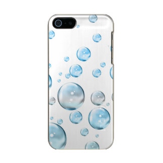 Bubbles Metallic Phone Case For iPhone SE/5/5s