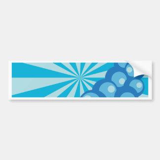 Bubbles 'n Strips Bumper Sticker