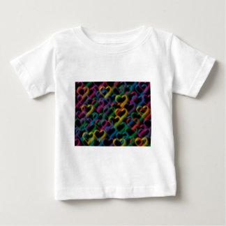 Bubbles neon rainbow colors baby T-Shirt