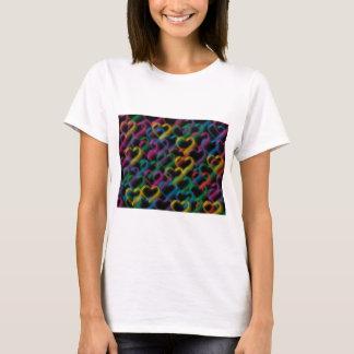 Bubbles neon rainbow colors T-Shirt