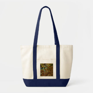 Bubbles on a Fall Day Tote Bags