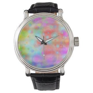 Bubbles pastell designed by Tutti Wrist Watches