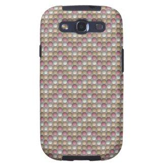 Bubbles Peach Samsung Galaxy S3 Case