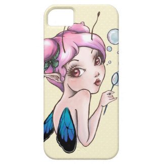 Bubbles pink haired Pixie. iPhone 5 Case