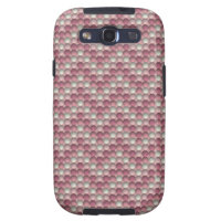 Bubbles Pink Samsung Galaxy S3 Case