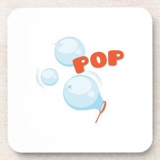 Bubbles POP Beverage Coaster