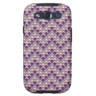 Bubbles Purple Samsung Galaxy S3 Case