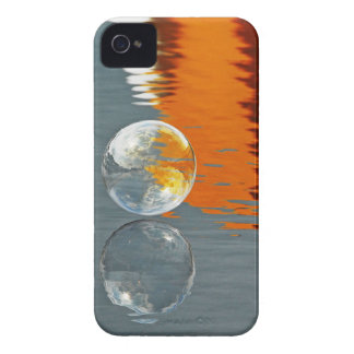 Bubbles Reflecting in Water Case-Mate iPhone 4 Case