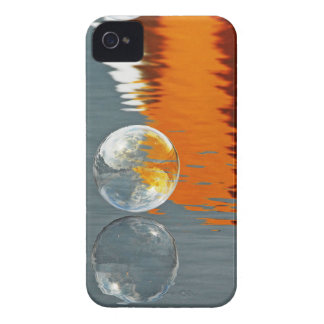 Bubbles Reflecting in Water iPhone 4 Case