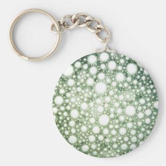 Bubbles Texture 1 Basic Round Button Keychain