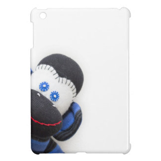 Bubbles the sock monkey iPad mini cover