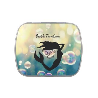 Bubbles Travel Candy Tin