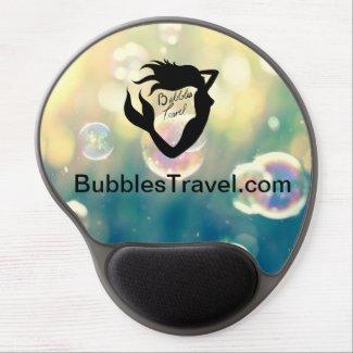 Bubbles Travel Gel Mouse Pad