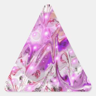 Bubbles Triangle Sticker