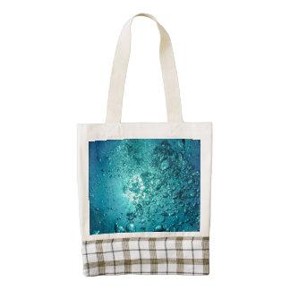 Bubbles Under the Sea Zazzle HEART Tote Bag