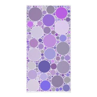 Bubbles: Violet Card