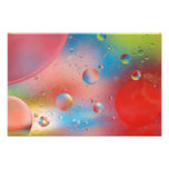 Bubbles Water Abstract Print Photo Print