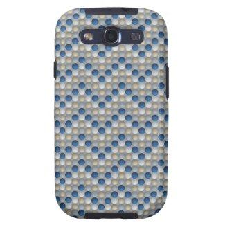 Bubbles White Samsung Galaxy S3 Case