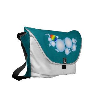 Bubbles with Prism Rainbow Courier Bag