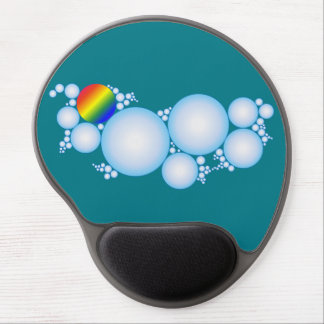 Bubbles with Prism Rainbow Gel Mouse Pad