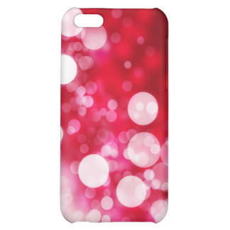 Bubbles with red background Speck Case iPhone 5C Cover