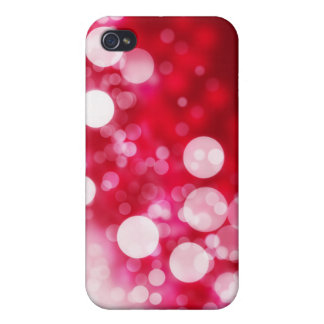 Bubbles with red background Speck Case iPhone 4/4S Cover