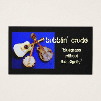 bubblin' identity business card