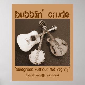 bubblin' poster